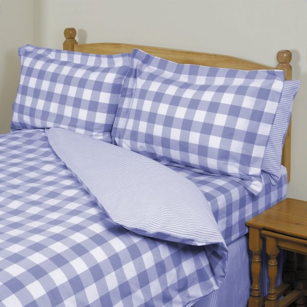 Surrey Blue Duvet Collection