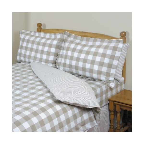 Surrey Taupe Duvet Collection