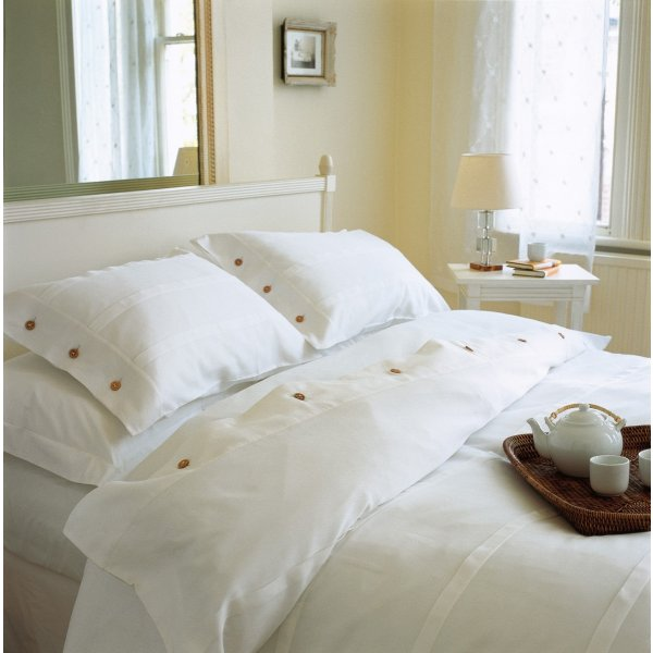 Waffle Duvet Collection - Buttons