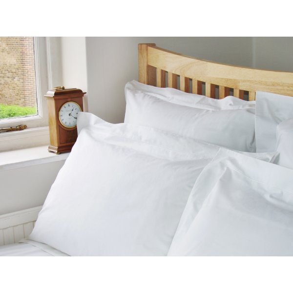 200TC White Egyptian Cotton Fitted Sheet