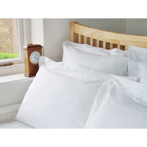 200TC White Egyptian Cotton Flat/Top Sheet