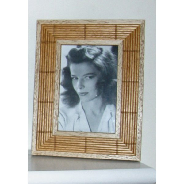 Bamboo Effect Photo Frame