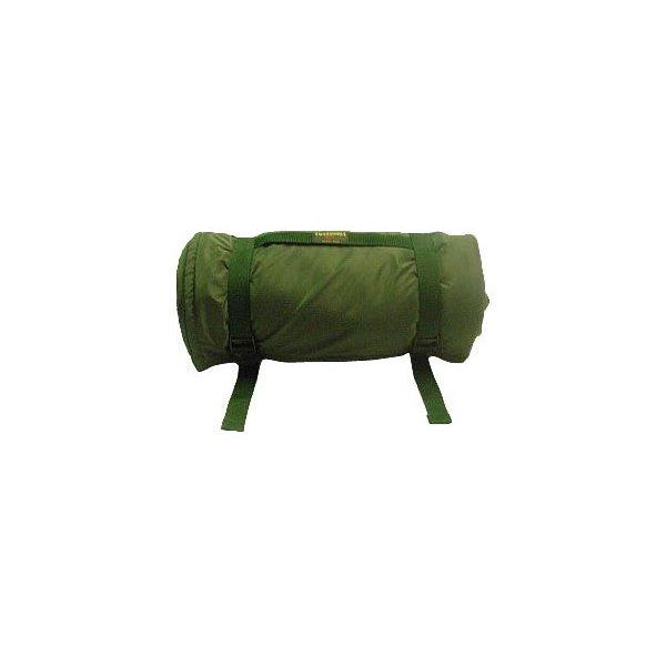 Fleece Rug with Straps. Green 145 x 145 cm