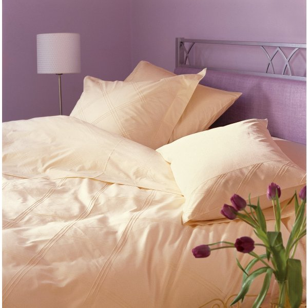 Naples Ivory Egyptian Cotton Duvet Collection