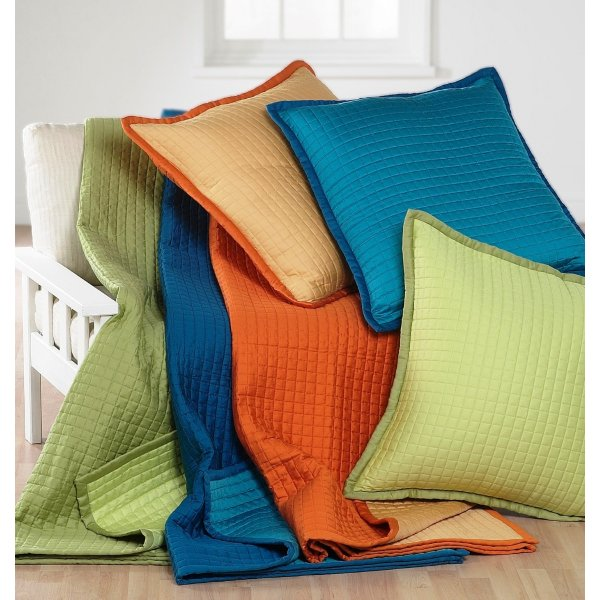 Reversible Quilted Bed Spread / Throw